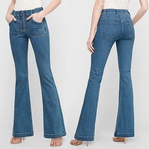 Express flare jeans